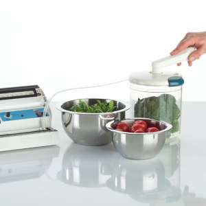 Vacuum sealing machine vegetables v100