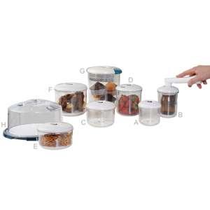 NEW-Line Vacuum Container (Round)
