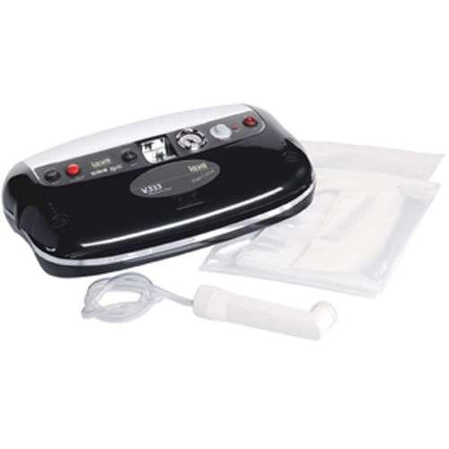 V333 Black design vacuum sealer