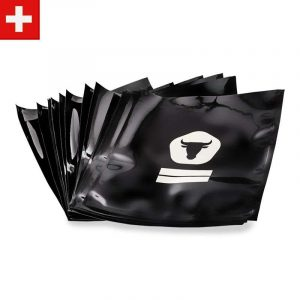 50 Black Vacuum Seal Bags (25 x 30cm)